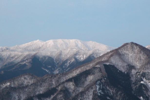 弥山と八経ヶ岳